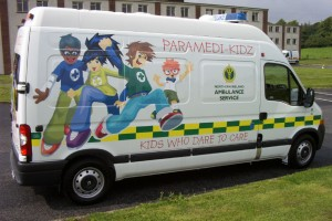 Paramedi-Kidz Vehicle