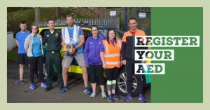 Register your AED
