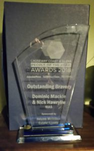 The Outstanding Bravery Award