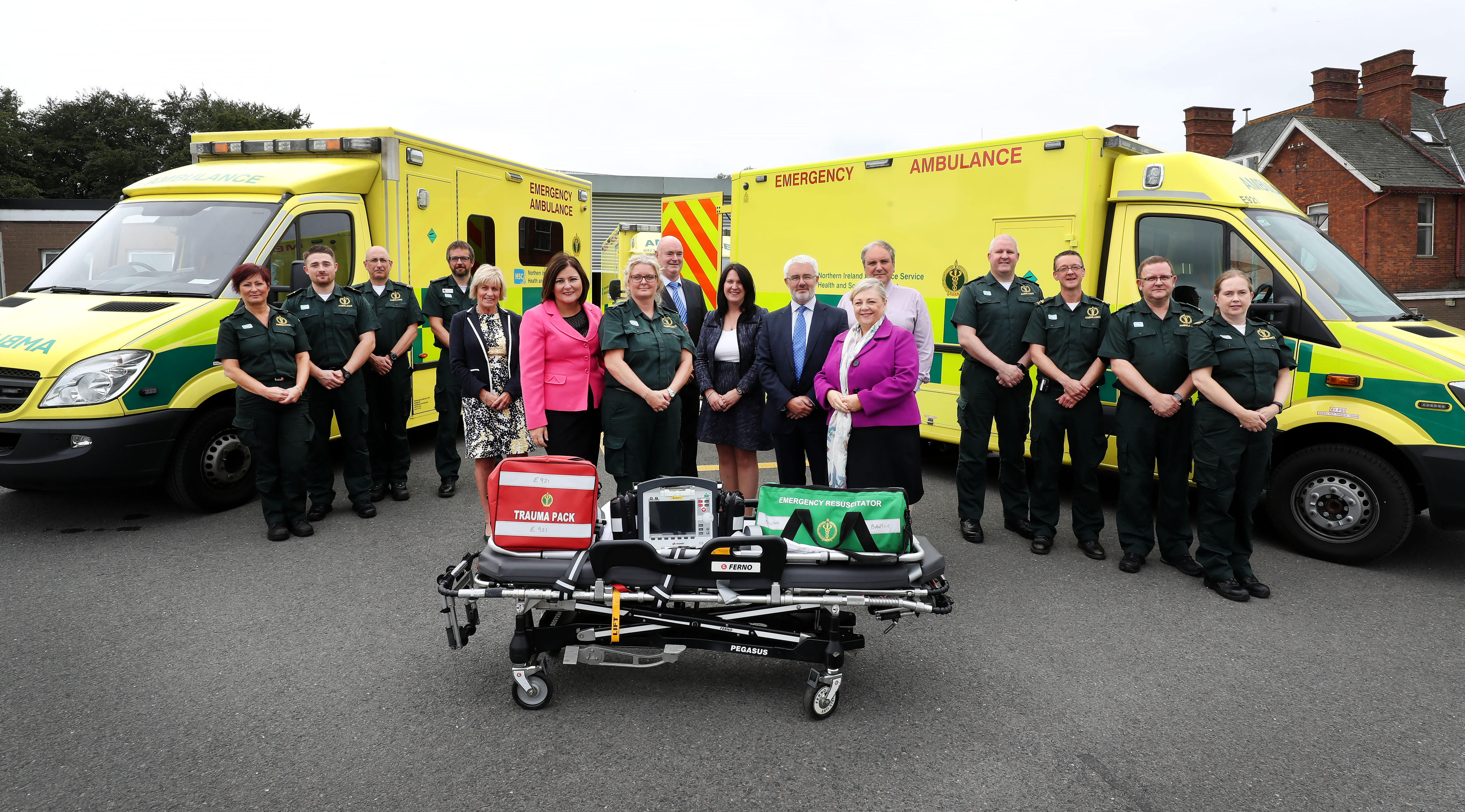 Northern Ireland Paramedics get formal recognition as Allied Health Professionals (AHP)